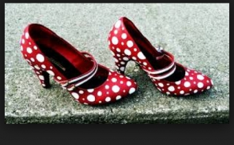 Polkadot Flamenco Shoes